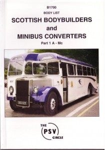 B1700 Scottish Bodybuilders & Minibus Converters 1: A - Mc