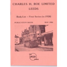 BB220 Roe first series (to 1938)