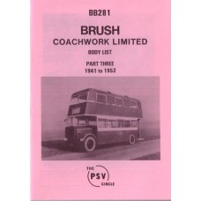 BB281 Brush Coachworks - Part 3 1941-1952