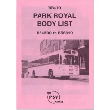 BB410 Park Royal bodies nos 54200 - 56999 (1965-71)