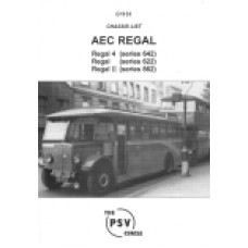 C1131 AEC Regal Series 662, Regal 4 Series 642 etc.