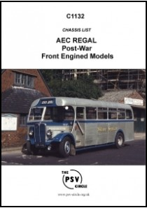 C1132 AEC Regal (Post-War Front Engined Models)