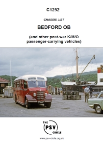 C1252 Bedford OB (and other post-war K/M/O passenger-carrying vehicles)