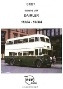 C1201 Daimler chassis numbers 11304 - 16684