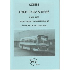 CXB555 Ford R192 & R226 Part 2 BC04KL46907-BC04MY66269