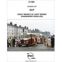 C1302 Guy Early Models and Light Series (Passenger vehicles)