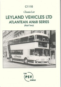 C1110 Leyland Atlantean AN68B/1R etc. to end