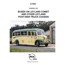 C1503 Leyland Comet and Other Leyland Post-War Truck Chassis