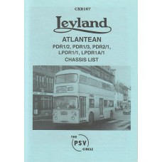 CXB167 Leyland Atlantean PDR1/2, PDR1/3, PDR2/1, PDR1A/1