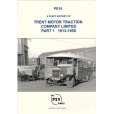 PE16 Trent Motor Traction Company Limited Part 1 (1913-1950)