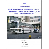 PN9 A Fleet History of Samuelson New Transport Co Ltd, National Travel (South East) Ltd, & Tillings Transport