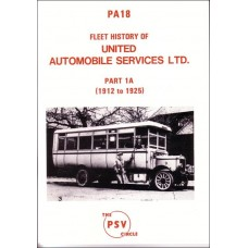 PA18 United Automobile Services Part 1A 1912-25
