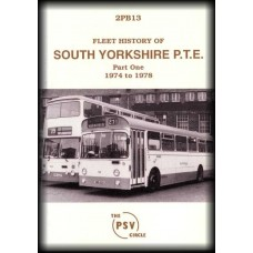 2PB13 South Yorkshire PTE (2nd Edition) - Part 1 1974-78