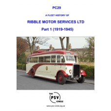 PC29 Ribble Motor Services Part 1 (1919-1945)