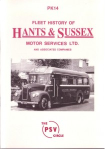 PK14 Hants & Sussex Motor Services (reprinted Dec-1994)