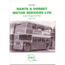 PK782 Hants & Dorset Motor Services Part 2 1950-75 (reissue)
