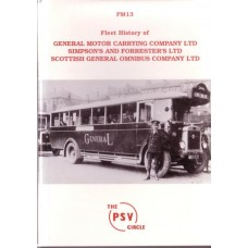 PM13 General Motor Carrying Co., Simpson's & Forrester's & Scottish General Omnibus Co. Limited.