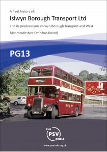 PG13 Islwyn Borough Transport Ltd and its predecessors.