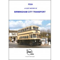 PD24 A Fleet History of Birmingham City Transport