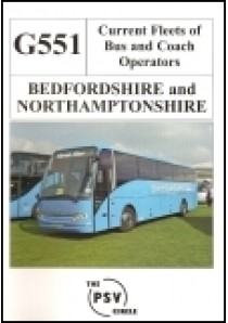 G551 Bedfordshire & Northamptonshire