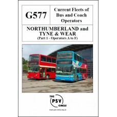 G577 Northumberland and Tyne & Wear Part 1: Operators A to F