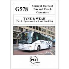 G578 Tyne & Wear Part 2: Operators G to Z and Non-PSVs