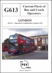 G613 London Part 3: London Bus Group to M