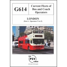 G614 London Part 4: Operators N to Z