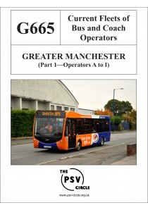 G665 Greater Manchester Part 1: Operators A to I
