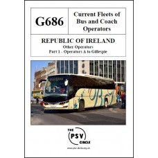 G686 Republic of Ireland Other Operators Part 1: A to Gillespie