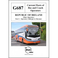 G687 Republic of Ireland Other Operators Part 2: Gillespie to Moroney