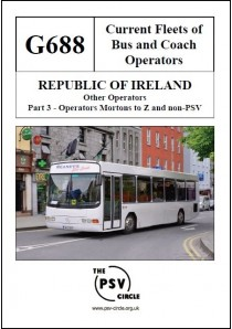 G688 Republic of Ireland Other Operators Part 3: M to Z