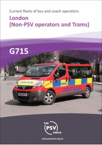G715 London Non-PSV operators and trams.