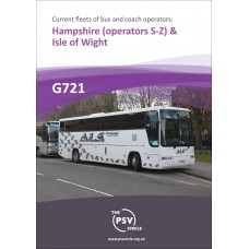 G721 Hampshire (operators S to Z) & Isle of Wight