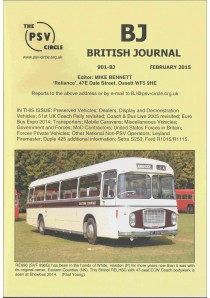 BJ901 British Journal (February 2015)