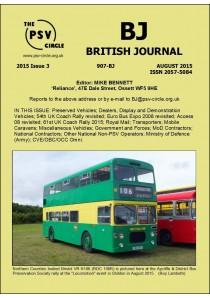 BJ907 British Journal (August 2015)