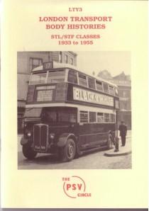 LTY3 STL class (inc STF) 1933-5
