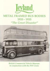 VA1 Leyland Metal Framed Bodies 1933-1935