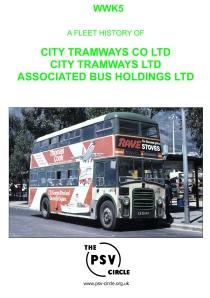 WWK5 City Tramways Co Ltd, City Tramways, Associated Bus